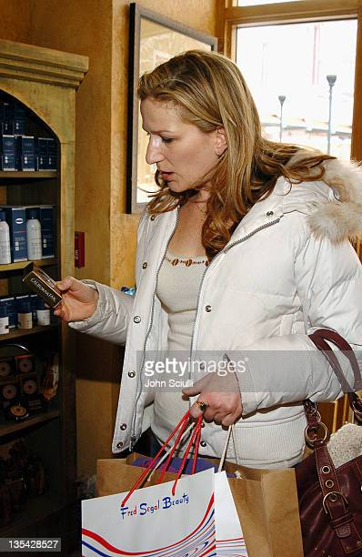 Ana Gasteyer at Fred Segal during 2005 Park City Fred Segal Boutique at Village at the Lift at Village at the Lift in Park City Utah United States