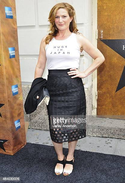 Ana Gasteyer attends 'Hamilton' Broadway Opening Night at Richard Rodgers Theatre on August 6 2015 in New York City