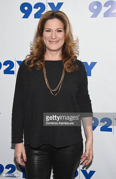 Ana Gasteyer attends Samantha Bee In Conversation With Ana Gasteyer at 92nd Street Y on February 4 2016 in New York City