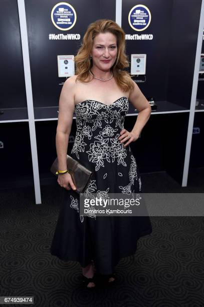 Ana Gasteyer attends the Full Frontal With Samantha Bee's Not The White House Correspondents' Dinner After Party at the W Hotel POV Rooftop on April...