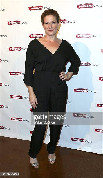 Ana Gasteyer attends the Primary Stages Gala honoring Marc Shaiman and Scott Wittman at 583 Park Avenue on November 16 2015 in New York City