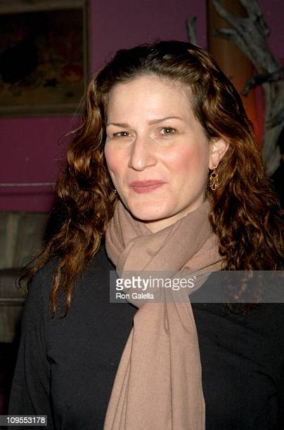 Ana Gasteyer during After Party for the Play 'Roulette' at Carol's Night Club in New York City New York United States