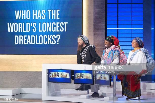 TRUTH Ana Gasteyer Jalen Rose Joshua Malina and Wanda Sykes Ana Gasteyer Jalen Rose Joshua Malina and Wanda Sykes make up the celebrity panel on To...