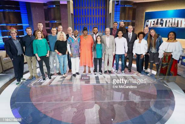 TRUTH Ana Gasteyer Jalen Rose Joshua Malina and Wanda Sykes Ana Gasteyer Jalen Rose Joshua Malina and Wanda Sykes make up the celebrity panel on To...