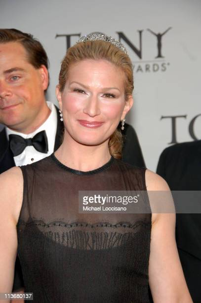"Ana Gasteyer of ""The Threepenny Opera"", and husband Charlie McKittrick"
