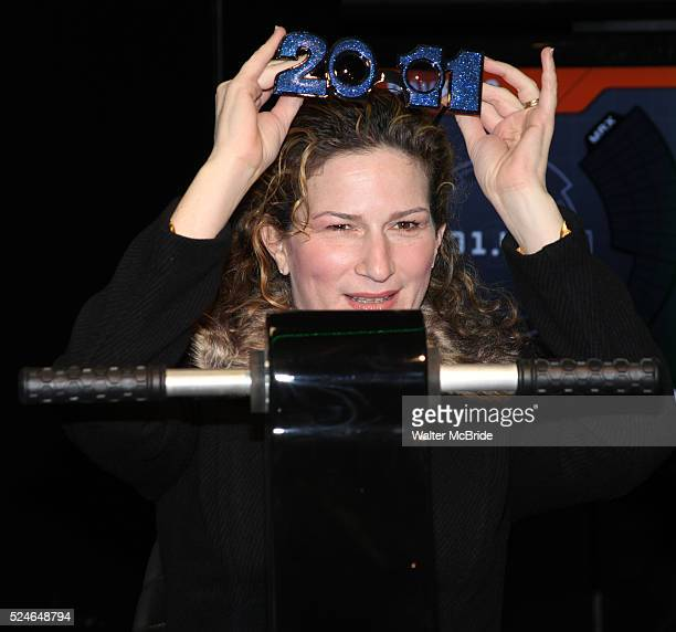 Ana Gasteyer participate in the Duracell Smart Powers Lab to generate power that will light the 2011 Numerals on New Years Eve in New York City.