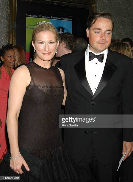 Ana Gasteyer with her husband Charlie McKittrick during 60th Annual Tony Awards - Arrivals at Radio City Music Hall in New York City, New York,...