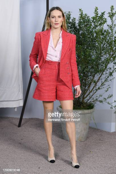 Ana Girardot attend the Chanel Haute Couture Spring/Summer 2020 show as part of Paris Fashion Week on January 21 2020 in Paris France