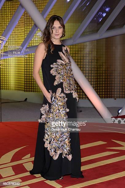 Ana Girardot attends 'Cinecoles Jury members' Photocall 14th Marrakech International Film Festival on December 12 2014 in Marrakech Morocco