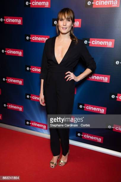 Ana Girardot attends 'ecinemacom' Launch Party at Restaurant L'Ile on November 30 2017 in IssylesMoulineaux France