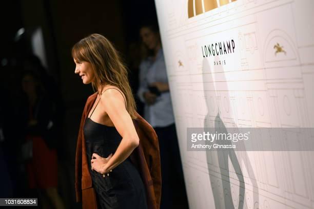 Ana Girardot attends Longchamp 70th Anniversary Celebration at Opera Garnier on September 11 2018 in Paris France
