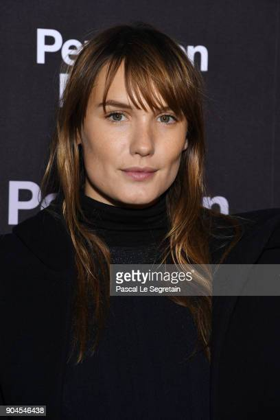 Ana Girardot attends 'Pentagon Papers' Premiere at Cinema UGC Normandie on January 13 2018 in Paris France