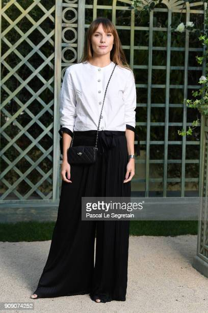 Ana Girardot attends the Chanel Haute Couture Spring Summer 2018 show as part of Paris Fashion Week on January 23 2018 in Paris France