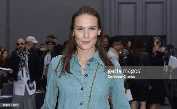 Ana Girardot attends the Chloe show as part of the Paris Fashion Week Womenswear Spring/Summer 2016 on October 1 2015 in Paris France