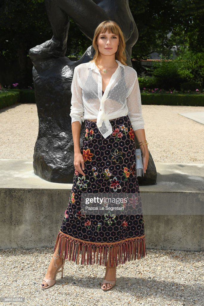 Christian Dior : Photocall - Paris Fashion Week - Haute Couture Fall Winter 2018/2019