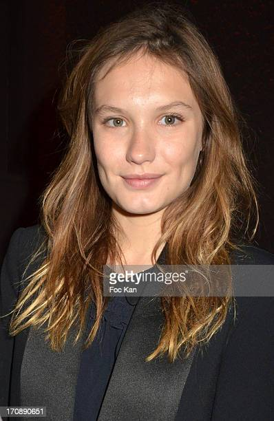 Ana Girardot attends the 'Fete du Cinema 2013' Press Conference at the Hotel Pershing Hall on June 19 2013 in Paris France