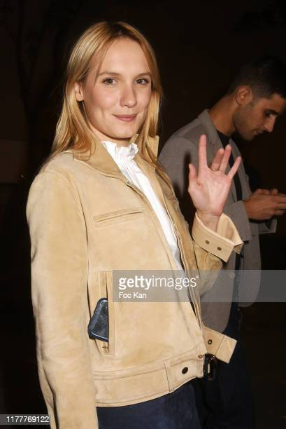 Ana Girardot attends the Hermes Womenswear Spring/Summer 2020 show as part of Paris Fashion Week on September 28 2019 in Paris France