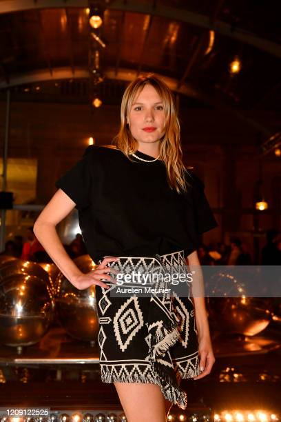 Ana Girardot attends the Isabel Marant show as part of the Paris Fashion Week Womenswear Fall/Winter 2020/2021 on February 27 2020 in Paris France
