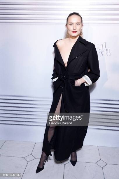 Ana Girardot attends the JeanPaul Gaultier 50th Birthday Cocktail and Party at Theatre du Chatelet on January 22 2020 in Paris France