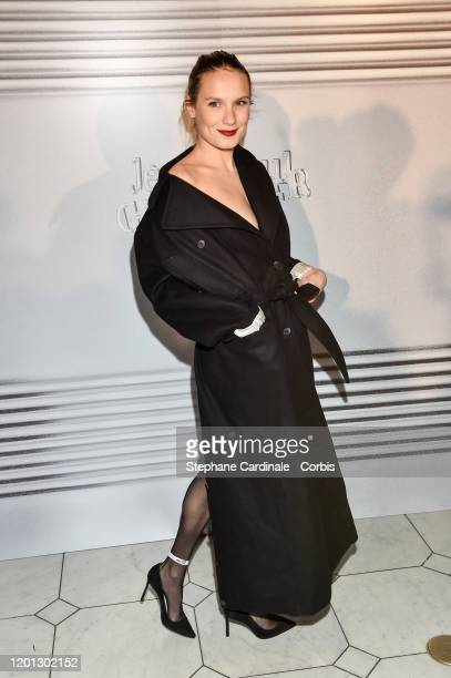 Ana Girardot attends the JeanPaul Gaultier Haute Couture Spring/Summer 2020 show as part of Paris Fashion Week at Theatre Du Chatelet on January 22...