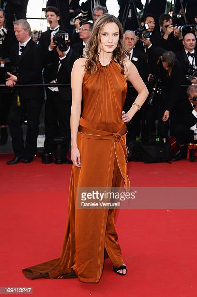 Ana Girardot attends the Premiere of 'The Immigrant' at The 66th Annual Cannes Film Festival at Palais des Festivals on May 24 2013 in Cannes France