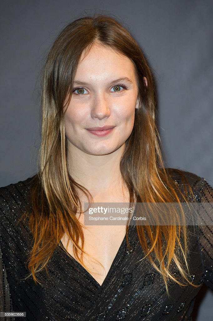 Ana Girardot attends the Tribute to Quentin Tarantino, during the 5th Lumiere Film Festival, in Lyon.