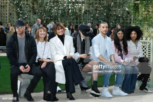 Ana Girardot Caroline de Maigret Stella Tennant guest Naomi Diaz and LisaKainde Diaz attend the Chanel Haute Couture Spring Summer 2018 show as part...