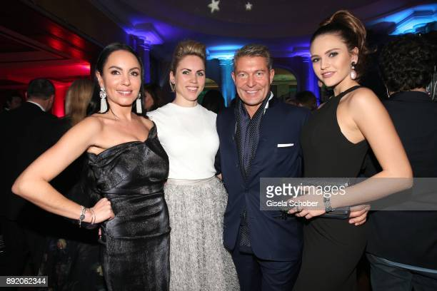 Ana Grote Danila Langguth Jewelry designer of 'Juwelenschmiede' Thomas Jirgens and Clara Buchner during the Audi Generation Award 2017 at Hotel...