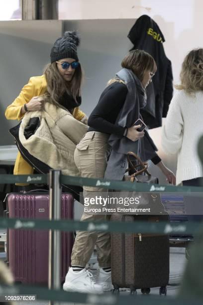 Ana Guerra and Aitana Ocaña is seen on January 11 2019 in Madrid Spain