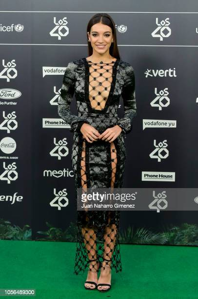Ana Guerra attends 'LOS40 Music Awards' 2018 at WiZink Center on November 2 2018 in Madrid Spain