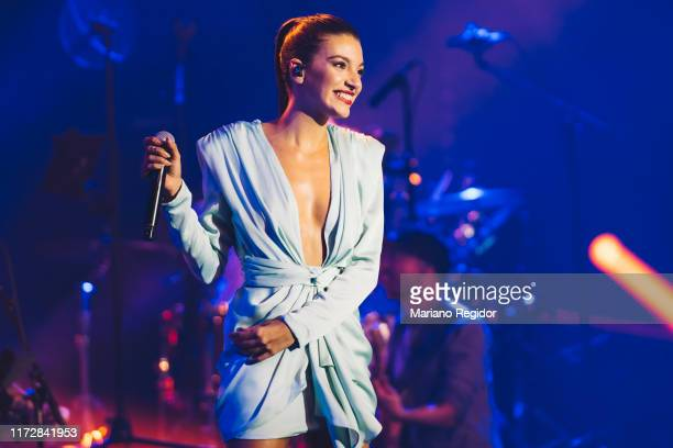 Ana Guerra performs onstage at Wizink Center during Vive Dial 2019 on September 06 2019 in Madrid Spain