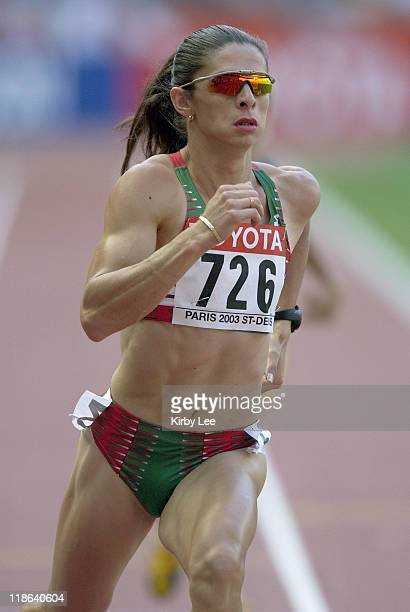 Ana Guevara of Mexico was a heat winner in 5114 seconds in the first round of the 400 metersin the IAAF World Championships in Athletics at Stade de...