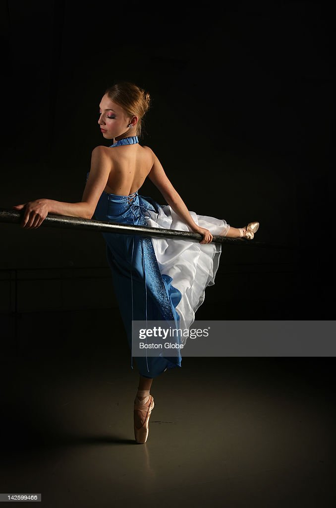 Prom Dresses Modelled By Members Of The Boston Ballet Corps De ...