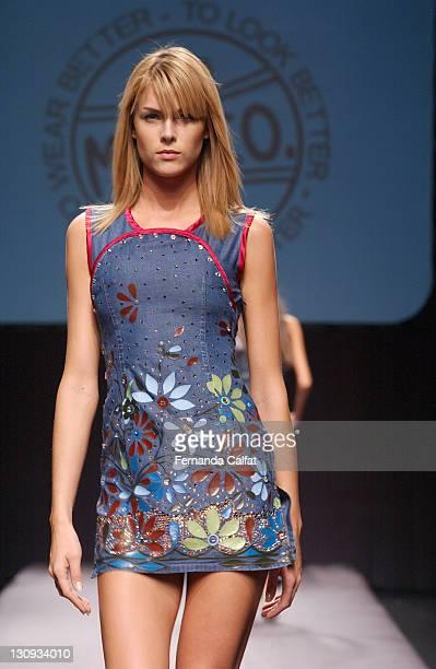 f1283257d995c Ana Hickmann during Goias Marca Moda Fashion Shows MTZCO at Oliveira s  Place in Goiania Goias Brazil