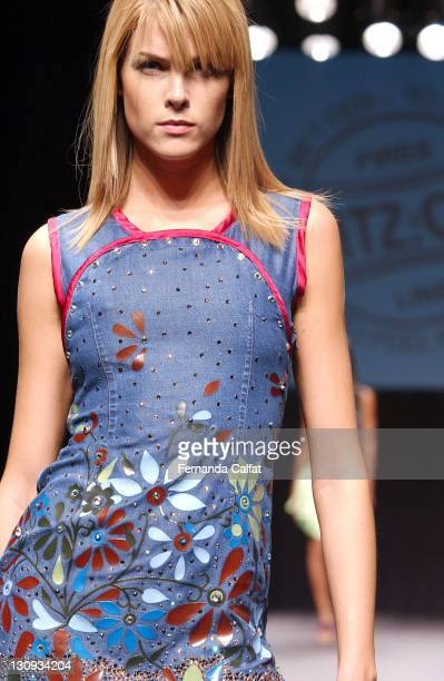 bfc493f3d26c7 Ana Hickmann during Goias Marca Moda Fashion Shows MTZCO at Oliveira s Place  in Goiania Goias Brazil