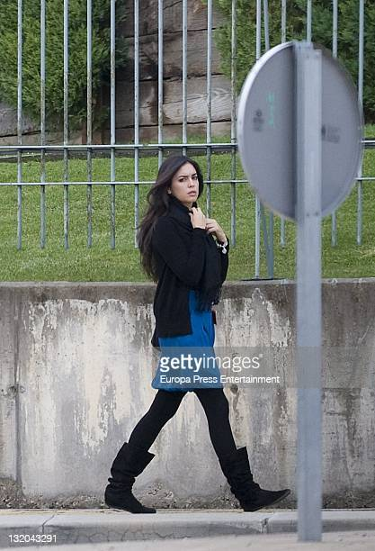 Ana Isabel Medinabeitia is seen on November 10 2011 in Madrid Spain