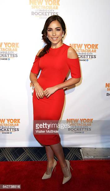 Ana Isabelle attends the Opening Night performance of 'New York Spectacular' at the Radio City Music Hall on June 23 2016 in New York City