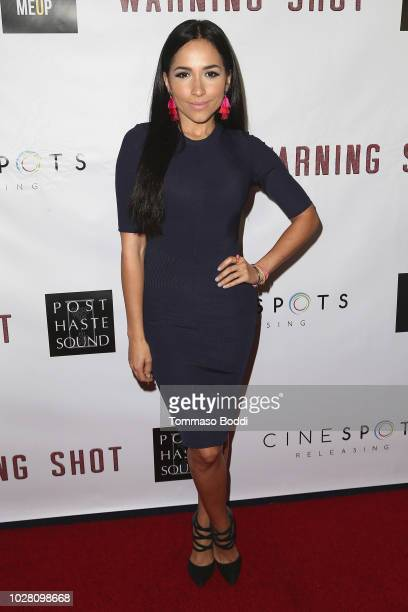 Ana Isabelle attends the Premiere Of Cinespots' 'Warning Shot' at The WGA Theater on September 6 2018 in Beverly Hills California