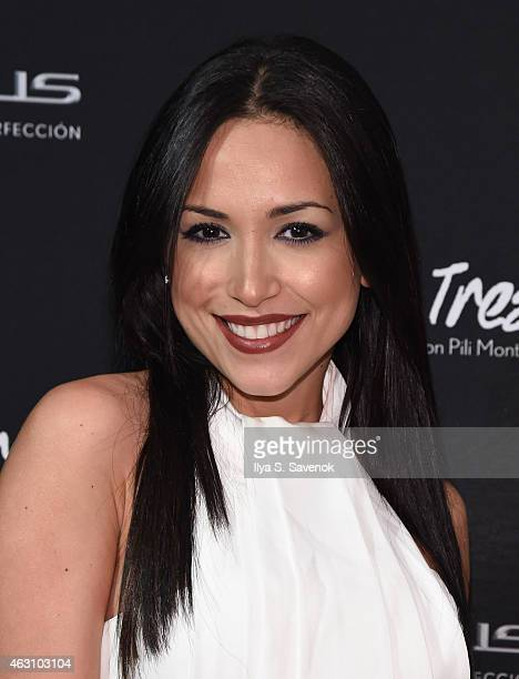 Ana Isabelle attends VidaLexus Presenta Te Para Tres Live Concert Series on February 9 2015 in New York City