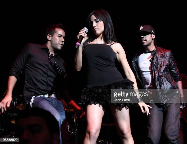 Ana Isabelle performs at Fillmore Miami Beach on February 19 2010 in Miami Beach Florida