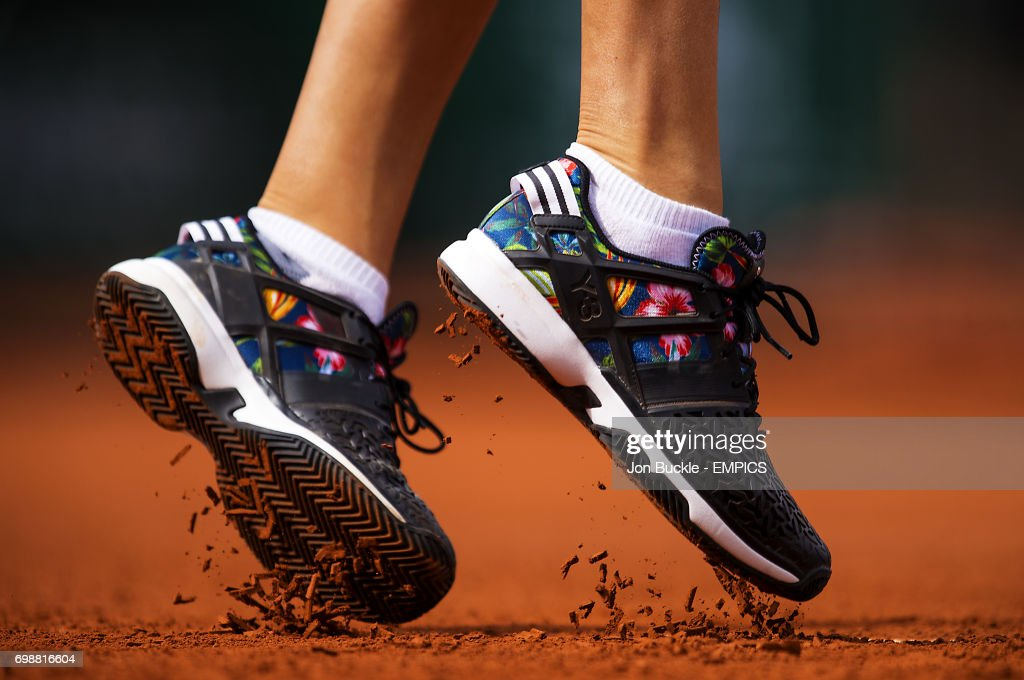During Ana Tennis Shoes Clay Y The Adidas Break Her 3 Off Ivanovic nHUUvOgp