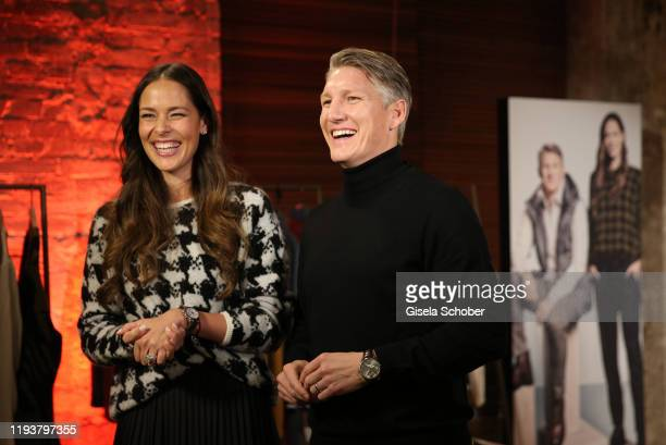 Ana Ivanovic and her husband Bastian Schweinsteiger during the BRAX house party during Berlin Fashion Week Autumn/Winter 2020 at Fabrik 23 on January...