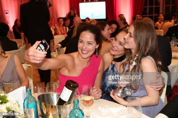 Ana Ivanovic Anne MeyerMinnemann and daugther Philippa during the Gala Spa Awards at Brenners ParkHotel Spa on March 25 2017 in BadenBaden Germany