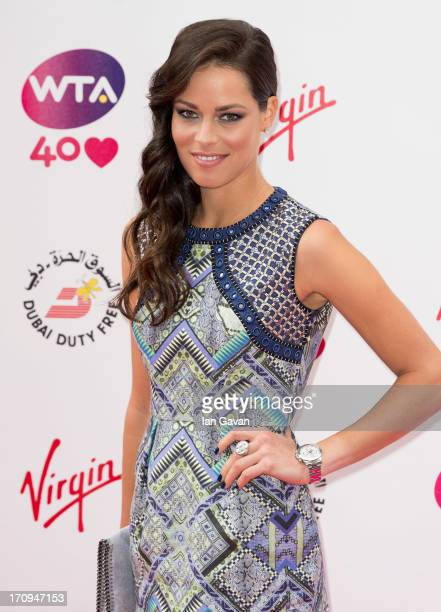 Ana Ivanovic attends the annual preWimbledon party at Kensington Roof Gardens on June 20 2013 in London England