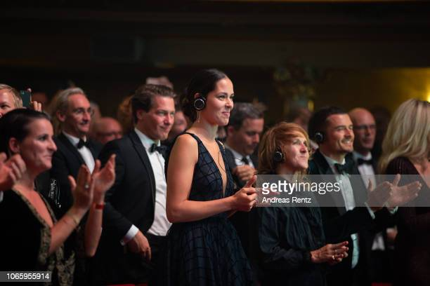 Ana Ivanovic attends the GQ Men of the Year Award show at Komische Oper on November 08 2018 in Berlin Germany