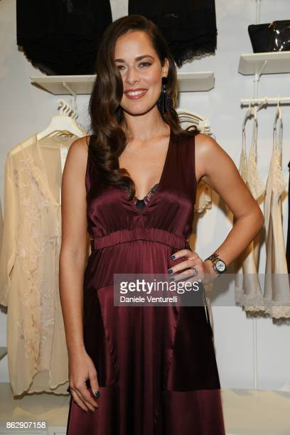 Ana Ivanovic attends the Intimissimi Grand Opening on October 18 2017 in New York United States