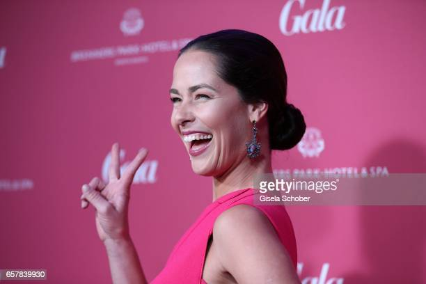 Ana Ivanovic during the Gala Spa Awards at Brenners ParkHotel Spa on March 25 2017 in BadenBaden Germany