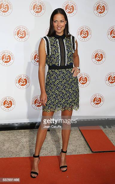 Ana Ivanovic of Serbia attends the 2016 French Open Players' Party held at the Petit Palais on May 19 2016 in Paris France
