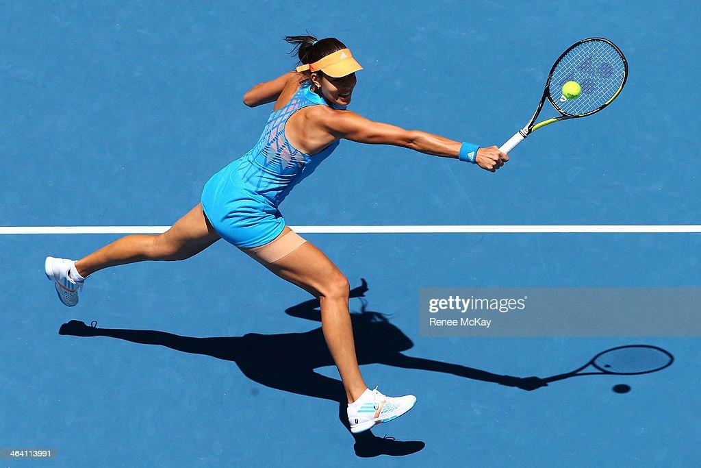 2014 Australian Open - Day 9 : Foto di attualità
