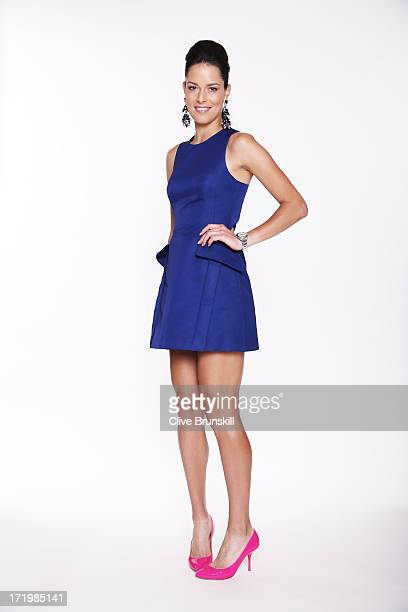 Ana Ivanovic poses for an exclusive photoshoot during the WTA 40 Love Celebration on Middle Sunday of the Wimbledon Lawn Tennis Championships at the...
